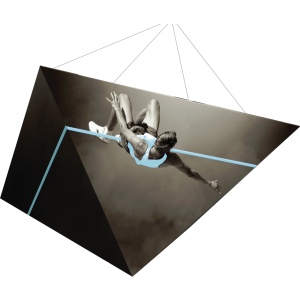 Four Sided Pyramid Formulate Master 3D Hanging Structure
